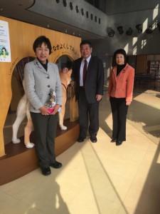 20160107県立動物愛護管理センターにて